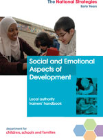 Social and emotional aspects of development cover