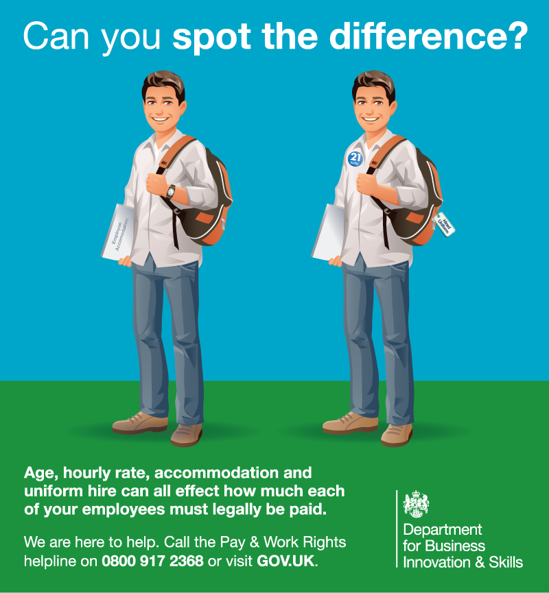 NMW - Spot the differnence infographic